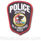 Zion Police Department Patch