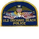 Old Orchard Beach Police Department Patch