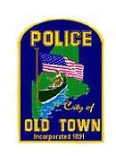 Old Town Police Department Patch