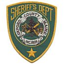 Oxford County Sheriff's Office Patch
