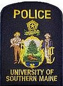 University of Southern Maine Police Department Patch