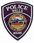 Wells Police Department Patch