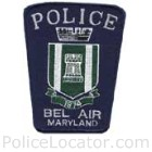 Bel Air Police Department Patch