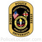 Bowie State University Police Department Patch