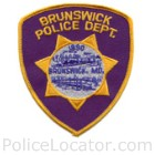 Brunswick City Police Department Patch