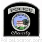 Cheverly Police Department Patch