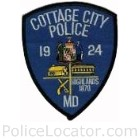 Cottage City Police Department Patch