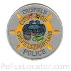 Crisfield Police Department Patch