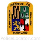 Frederick County Sheriff's Office Patch
