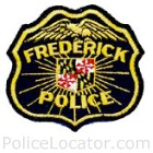Frederick Police Department Patch