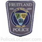 Fruitland Police Department Patch
