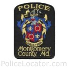 Montgomery County Police Department Patch