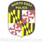 North East Police Department Patch