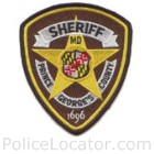 Prince George's County Sheriff's Office Patch
