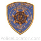Worcester County Sheriff's Office Patch
