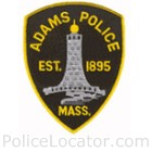 Adams Police Department Patch