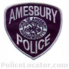 Amesbury Police Department Patch
