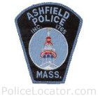 Ashfield Police Department Patch