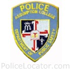 Assumption College Campus Police Department Patch