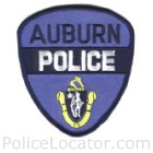 Auburn Police Department Patch