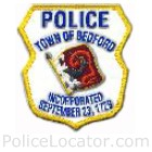 Bedford Police Department Patch