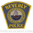 Beverly Police Department Patch