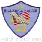 Billerica Police Department Patch