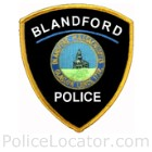 Blandford Police Department Patch