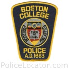 Boston College Police Department Patch