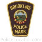 Brookline Police Department Patch