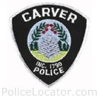 Carver Police Department Patch