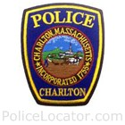 Charlton Police Department Patch