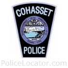 Cohasset Police Department Patch