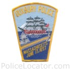 Duxbury Police Department Patch