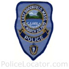 East Brookfield Police Department Patch