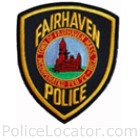 Fairhaven Police Department Patch