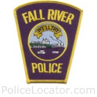 Fall River Police Department Patch