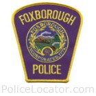 Foxborough Police Department Patch