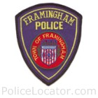Framingham Police Department Patch