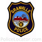 Granville Police Department Patch