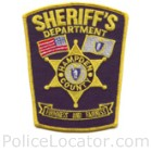 Hampden County Sheriff's Office Patch