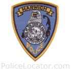 Harwich Police Department Patch