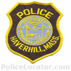 Haverhill Police Department Patch