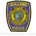 Holland Police Department Patch