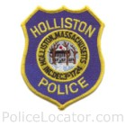 Holliston Police Department Patch