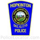Hopkinton Police Department Patch