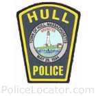 Hull Police Department Patch