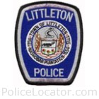 Littleton Police Department Patch