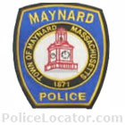 Maynard Police Department Patch