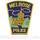 Melrose Police Department Patch